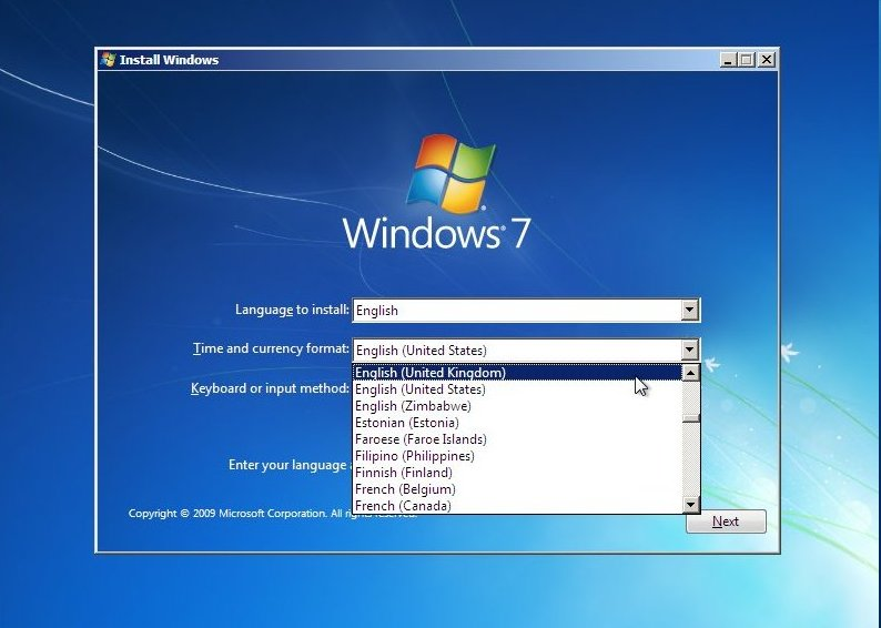 fresh clean install of windows 7 on a new hard drive. Black Bedroom Furniture Sets. Home Design Ideas