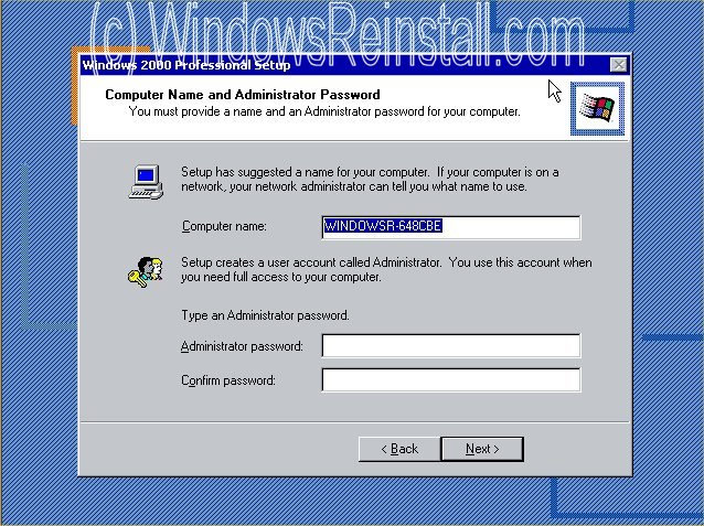 how to install windows 10 a old hard drive
